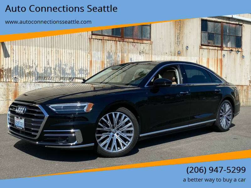 2019 Audi A8 L for sale at Auto Connections Seattle in Seattle WA