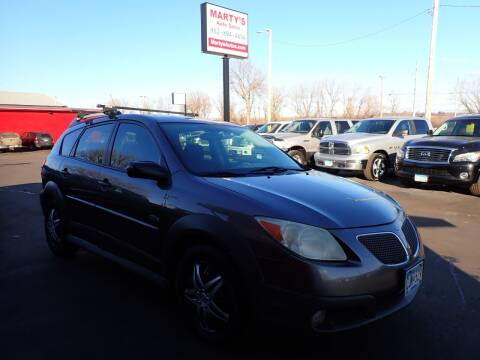 2006 Pontiac Vibe for sale at Marty's Auto Sales in Savage MN