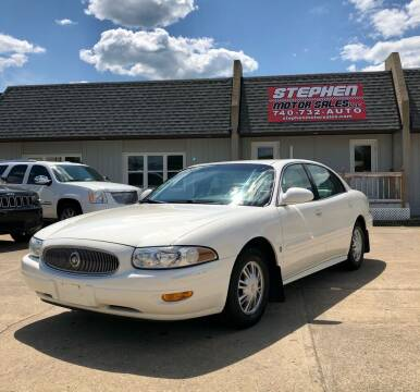 2002 Buick LeSabre for sale at Stephen Motor Sales LLC in Caldwell OH
