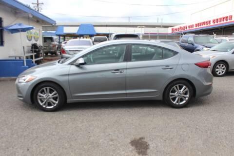 2018 Hyundai Elantra for sale at Bayview Auto Sales in Waipahu HI