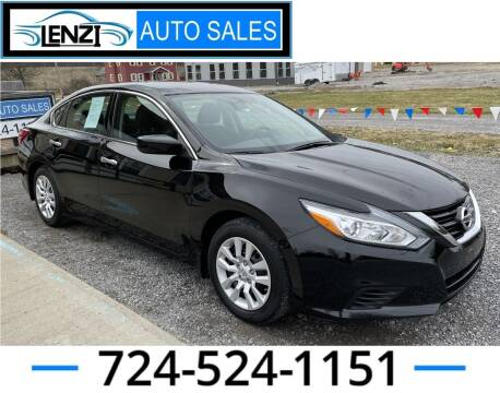 2017 Nissan Altima for sale at LENZI AUTO SALES in Sarver PA
