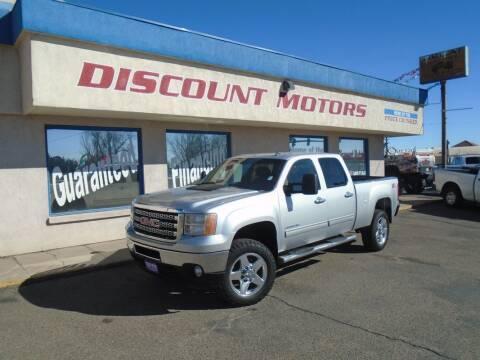 2014 GMC Sierra 2500HD for sale at Discount Motors in Pueblo CO