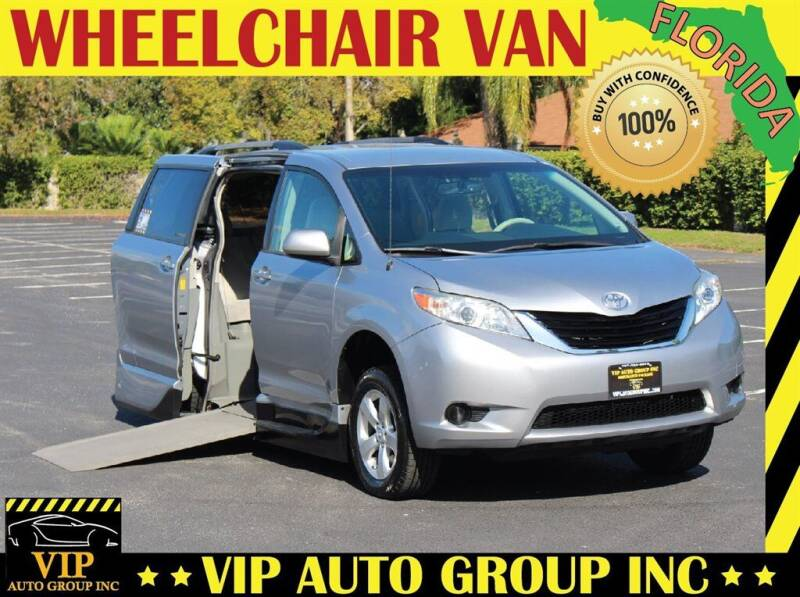 2014 Toyota Sienna for sale at VIP Auto Group in Clearwater FL