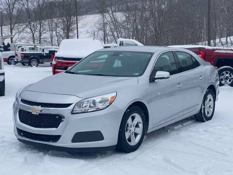 2014 Chevrolet Malibu for sale at Griffith Auto Sales in Home PA