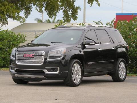 2015 GMC Acadia for sale at DK Auto Sales in Hollywood FL