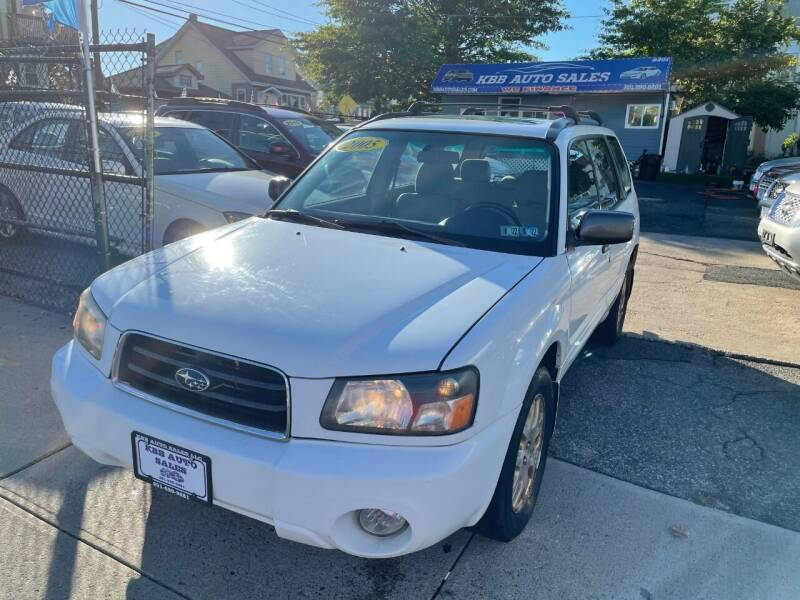 2005 Subaru Forester for sale at KBB Auto Sales in North Bergen NJ