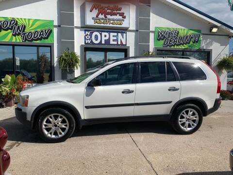 2003 Volvo XC90 for sale at MARIETTA MOTORS LLC in Marietta OH