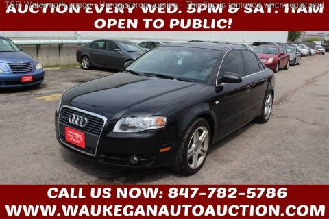 2007 Audi A4 for sale at Waukegan Auto Auction in Waukegan IL