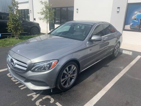 2016 Mercedes-Benz C-Class for sale at Bay City Autosales in Tampa FL