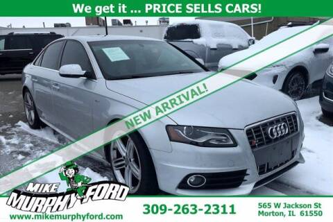 2012 Audi S4 for sale at Mike Murphy Ford in Morton IL