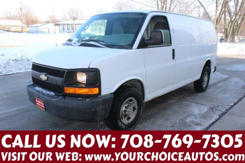 2013 Chevrolet Express Cargo for sale at Your Choice Autos in Posen IL