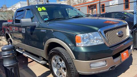 2004 Ford F-150 for sale at TOP SHELF AUTOMOTIVE in Newark NJ