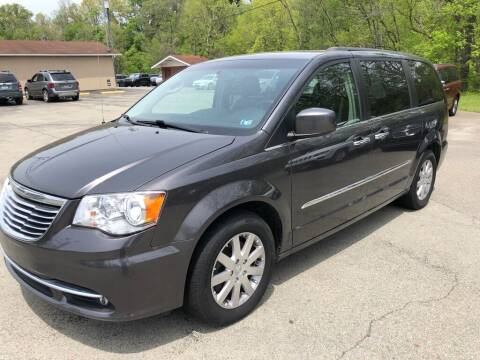 2015 Chrysler Town and Country for sale at Elite Motors in Uniontown PA