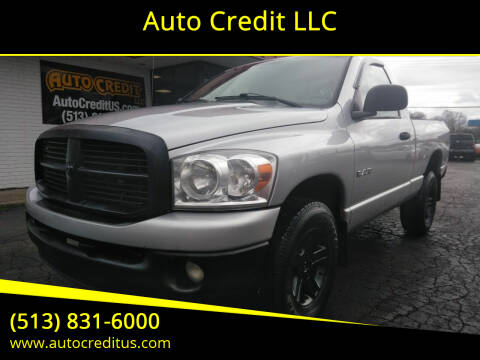 2008 Dodge Ram Pickup 1500 for sale at Auto Credit LLC in Milford OH