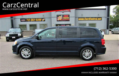 2014 Dodge Grand Caravan for sale at CarzCentral in Estherville IA