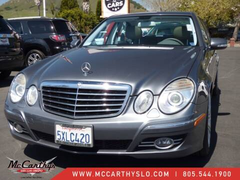2007 Mercedes-Benz E-Class for sale at McCarthy Wholesale in San Luis Obispo CA