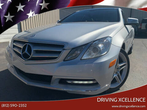 2012 Mercedes-Benz E-Class for sale at Driving Xcellence in Jeffersonville IN