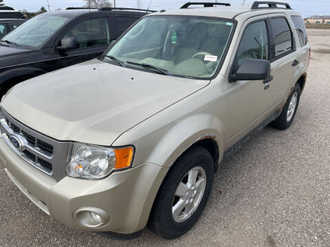 2010 Ford Escape for sale at Strait-A-Way Auto Sales LLC in Gaylord MI