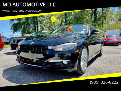 2014 BMW 3 Series for sale at MD AUTOMOTIVE LLC in Slidell LA