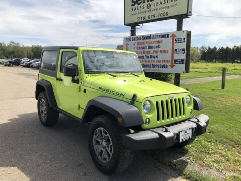 2016 Jeep Wrangler for sale at Sensible Sales & Leasing in Fredonia NY