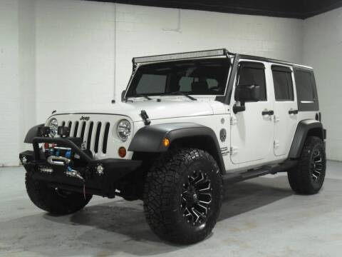 2010 Jeep Wrangler Unlimited for sale at Ohio Motor Cars in Parma OH