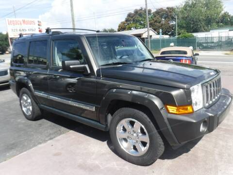 2006 Jeep Commander for sale at LEGACY MOTORS INC in New Port Richey FL