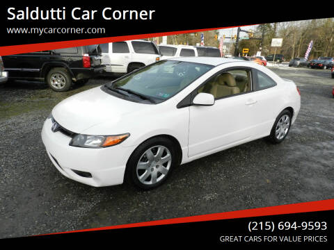 2008 Honda Civic for sale at Saldutti Car Corner in Gilbertsville PA
