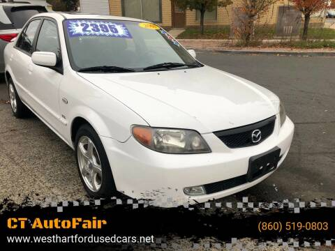 2003 Mazda Protege for sale at CT AutoFair in West Hartford CT