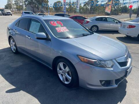 2009 Acura TSX for sale at LIVINGSTON AUTO SALES in Livingston CA