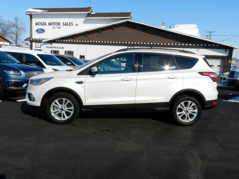 2018 Ford Escape for sale at Moser Motors Of Portland in Portland IN