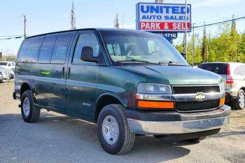 2006 Chevrolet Express Passenger for sale at United Auto Sales in Anchorage AK
