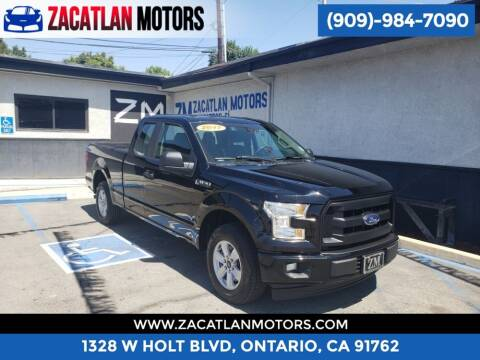 2017 Ford F-150 for sale at Ontario Auto Square in Ontario CA