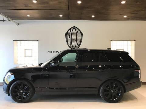 2019 Land Rover Range Rover for sale at Midwest Car Connect in Villa Park IL