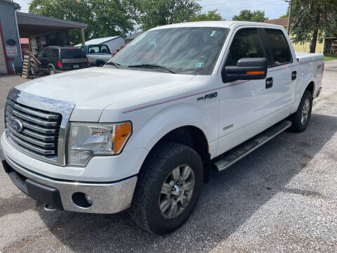 2011 Ford F-150 for sale at Trocci's Auto Sales in West Pittsburg PA