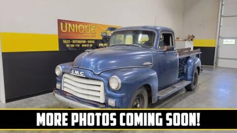 1954 GMC 150 for sale at UNIQUE SPECIALTY & CLASSICS in Mankato MN
