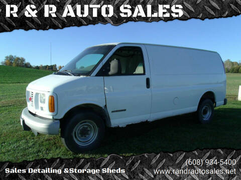 2000 GMC Savana Cargo for sale at R & R AUTO SALES in Juda WI