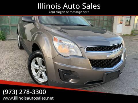 2010 Chevrolet Equinox for sale at Illinois Auto Sales in Paterson NJ