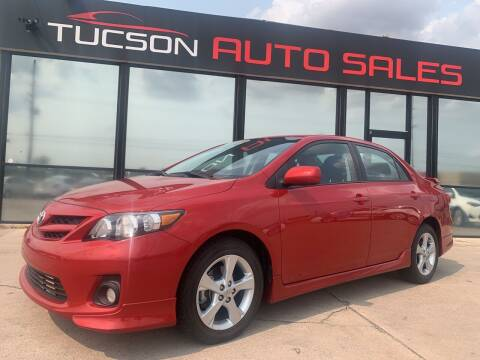 2013 Toyota Corolla for sale at Tucson Auto Sales in Tucson AZ
