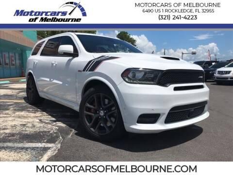 2020 Dodge Durango for sale at Motorcars of Melbourne in Rockledge FL