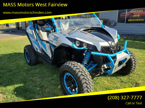2016 Can-Am MAVERICK 1000R for sale at MASS Motors West Fairview in Boise ID