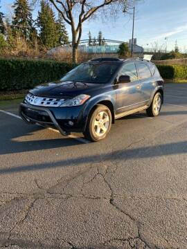 2004 Nissan Murano for sale at Seattle Motorsports in Shoreline WA
