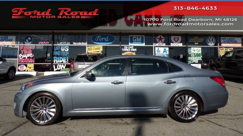 2014 Hyundai Equus for sale at Ford Road Motor Sales in Dearborn MI