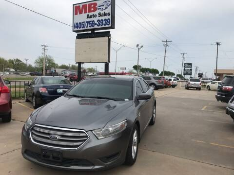 2013 Ford Taurus for sale at MB Auto Sales in Oklahoma City OK