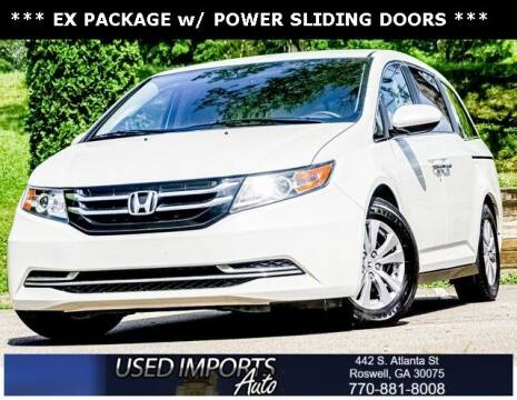 2016 Honda Odyssey for sale at Used Imports Auto in Roswell GA