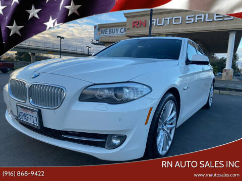 2011 BMW 5 Series for sale at RN Auto Sales Inc in Sacramento CA