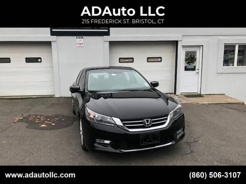 2015 Honda Accord for sale at ADAuto LLC in Bristol CT