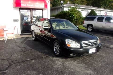 2005 Infiniti Q45 for sale at Dave Franek Automotive in Wantage NJ