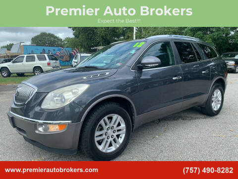 2012 Buick Enclave for sale at Premier Auto Brokers in Virginia Beach VA