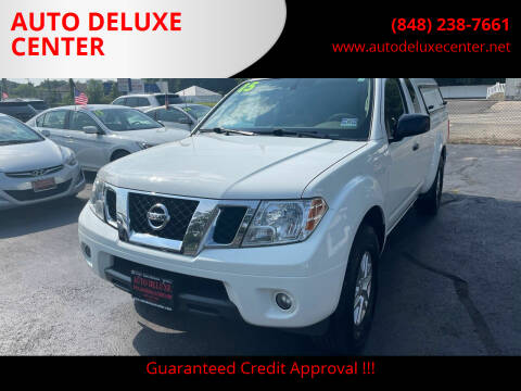 2015 Nissan Frontier for sale at AUTO DELUXE CENTER in Toms River NJ