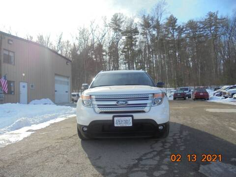 2013 Ford Explorer for sale at Exclusive Auto Sales & Service in Windham NH